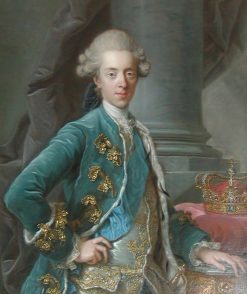 Portrait of King Christian VII of Denmark | Alexander Roslin | Oil Painting