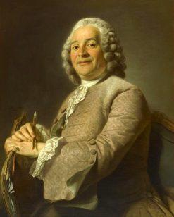 Portrait de Michel-Francois Dandre-Bardon | Alexander Roslin | Oil Painting