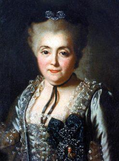 Portrait of Daria Golitsyna | Alexander Roslin | Oil Painting