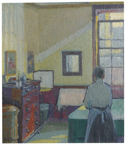 Interior | Harold Gilman | Oil Painting