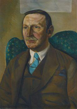 Portrait of Raymond Henniker-Heaton | Boris Grigoriev | Oil Painting