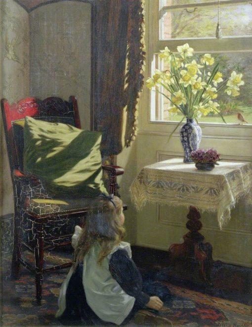 The Robin | Jessica Hayllar | Oil Painting
