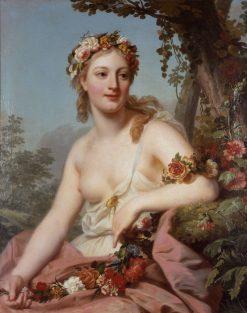 Flora | Alexander Roslin | Oil Painting