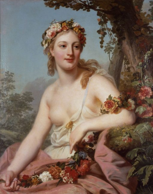 Flora   Alexander Roslin   Oil Painting