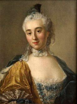 Isabella Lubomirska | Alexander Roslin | Oil Painting