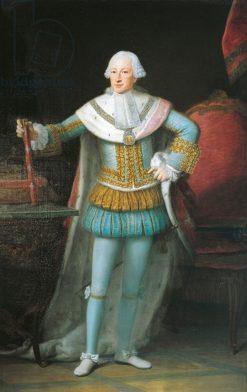 Portrait of Victor Amadeus III of Sardinia | Alexander Roslin | Oil Painting