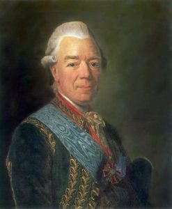 Portrait of Count Chernyshev | Alexander Roslin | Oil Painting
