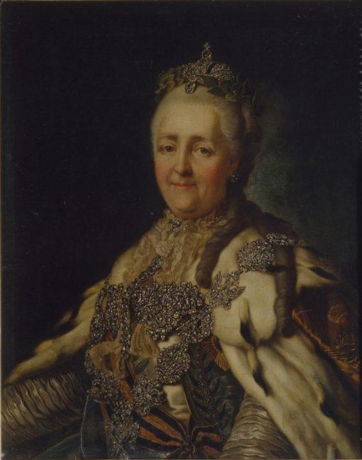 Catherine II | Alexander Roslin | Oil Painting