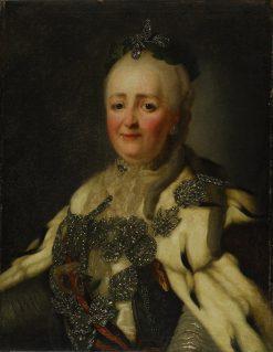 Empress Catherine II | Alexander Roslin | Oil Painting