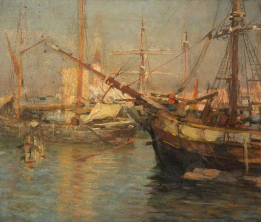 At Venice | Frederick William Jackson | Oil Painting