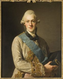 Prince Frederick Adolph of Sweden | Alexander Roslin | Oil Painting