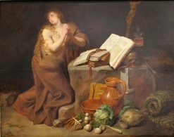 The Repenting Magdalena | David Ryckaert III | Oil Painting