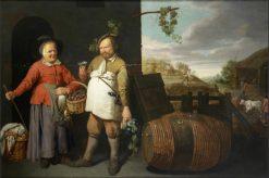 An Allegory of Autumn   David Ryckaert III   Oil Painting