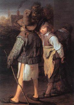 In the Village   David Ryckaert III   Oil Painting