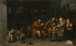 Peasant Family | David Ryckaert III | Oil Painting