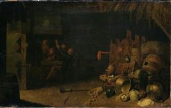 Peasant Interior | David Ryckaert III | Oil Painting