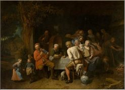 The Peasant Meal | David Ryckaert III | Oil Painting