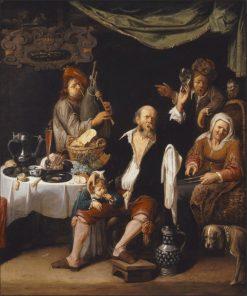 Merry Company   David Ryckaert III   Oil Painting