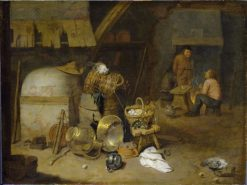 Farm Interior | David Ryckaert III | Oil Painting
