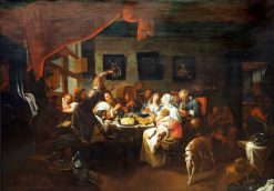 Epiphany Feast | David Ryckaert III | Oil Painting