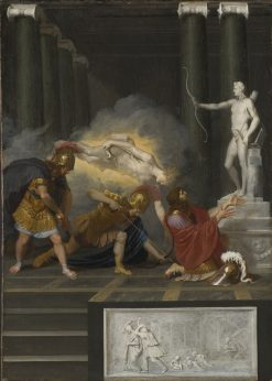 Achilles Wounded in the Heel | Bertholet Flemalle | Oil Painting
