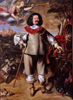 Portrait of Count Ottavio Piccolomini | Anselm van Hulle | Oil Painting