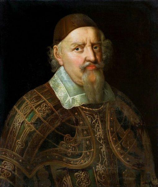 Portrait of Augustus of Brunswick-Luneburg   Anselm van Hulle   Oil Painting