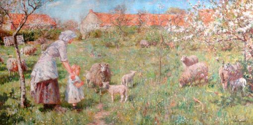 In the Springtime | Frederick William Jackson | Oil Painting