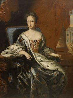 Portrait of Hedvig Eleonora