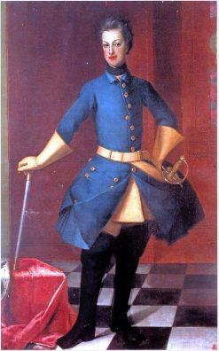 Portrait of Charles Frederick of Holstein-Gottorp | David von Krafft | Oil Painting
