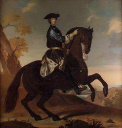 Karl XII on Horseback | David von Krafft | Oil Painting