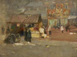 Middleton Market | Frederick William Jackson | Oil Painting