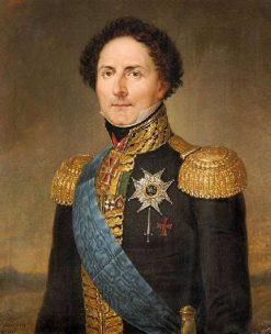 Portrait of Charles Jean Bernadotte