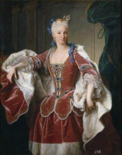 Portrait of Elisabeth Farnese