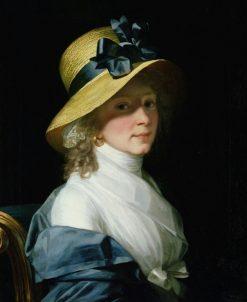 Portrait of Elisabeth Hudtwalcker | Jean Laurent Mosnier | Oil Painting