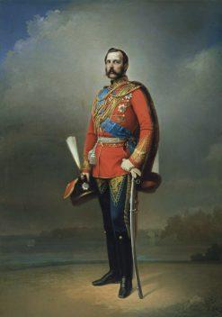 Emperor Alexander II of Russia | Nikolai Lavrov | Oil Painting