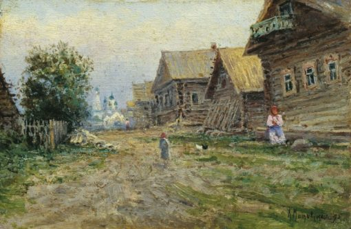 Village | Alexandra Makovskaya | Oil Painting
