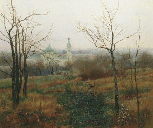 Late Autumn | Konstantin Pervukhin | Oil Painting
