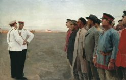 The Recruits | Lukian Popov | Oil Painting