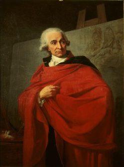 Portrait of Louis Jean Francois Lagrenee | Jean Laurent Mosnier | Oil Painting