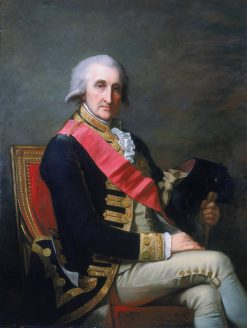 Portrait of Admiral Lord George Rodney