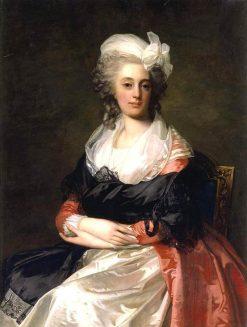 Portrait of a Lady | Jean Laurent Mosnier | Oil Painting