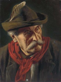 Portrait of a Tyrolean | Alois Binder | Oil Painting