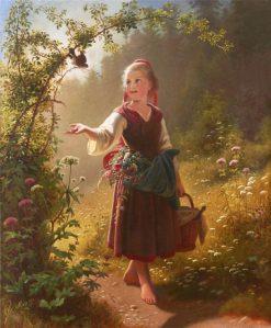 Woodland dreams | Hans Dahl | Oil Painting