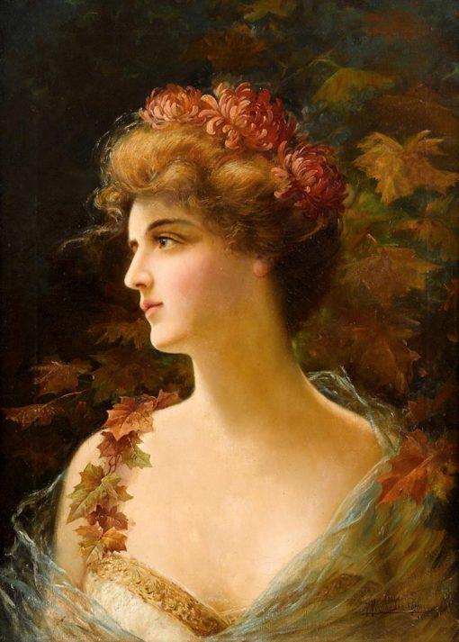 Autumn | Federico Fernandez y Gimenez | Oil Painting