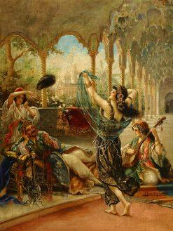 The Dancing Beauty | Federico Fernandez y Gimenez | Oil Painting
