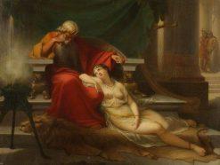 David and Abisaig | Louis Gabriel Bourbon-Leblanc | Oil Painting