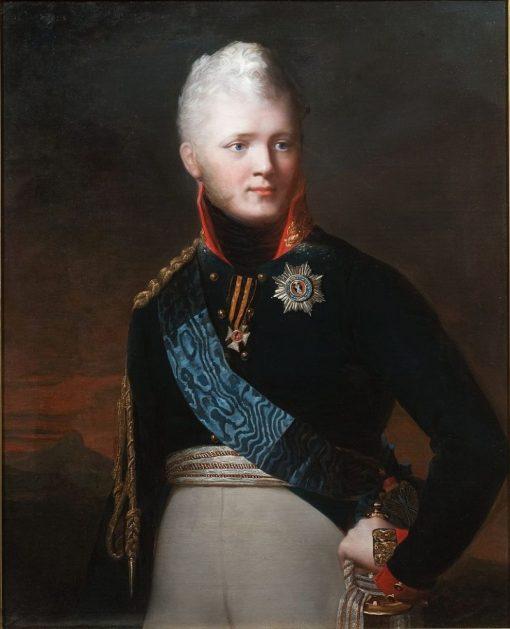 Alexander I of Russia   Jean Laurent Mosnier   Oil Painting