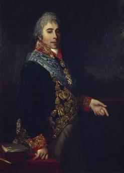 Portrait of Alexander Naryshkin | Jean Laurent Mosnier | Oil Painting