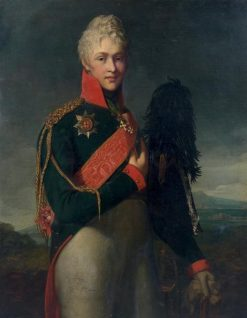 Portrait of Arkady Suvorov | Jean Laurent Mosnier | Oil Painting